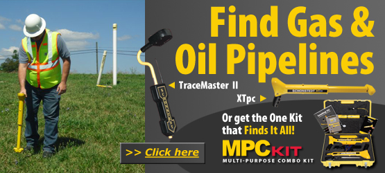 Find Gas & Oil Pipelines