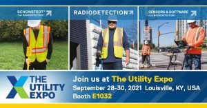 Schonstedt Radiodetection Sensors Software Exhibit at Utility Expo