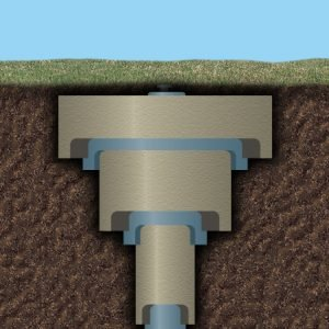 Find subsurface well casings