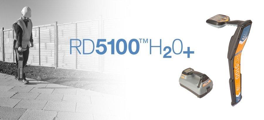 Radiodetection 5100H2O+ Precision Pipe & Cable Locator