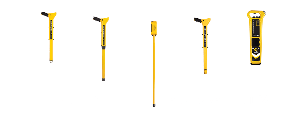 Find it all underground with a Schonstedt locator