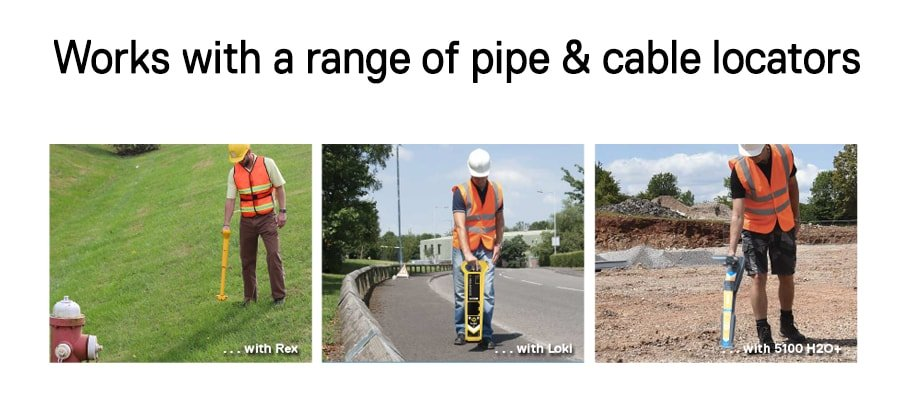 FlexiTrade works with a range of pipe & cable locators