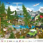 Get Kids Into Survey Forestry Poster Ga-52Cx Locator