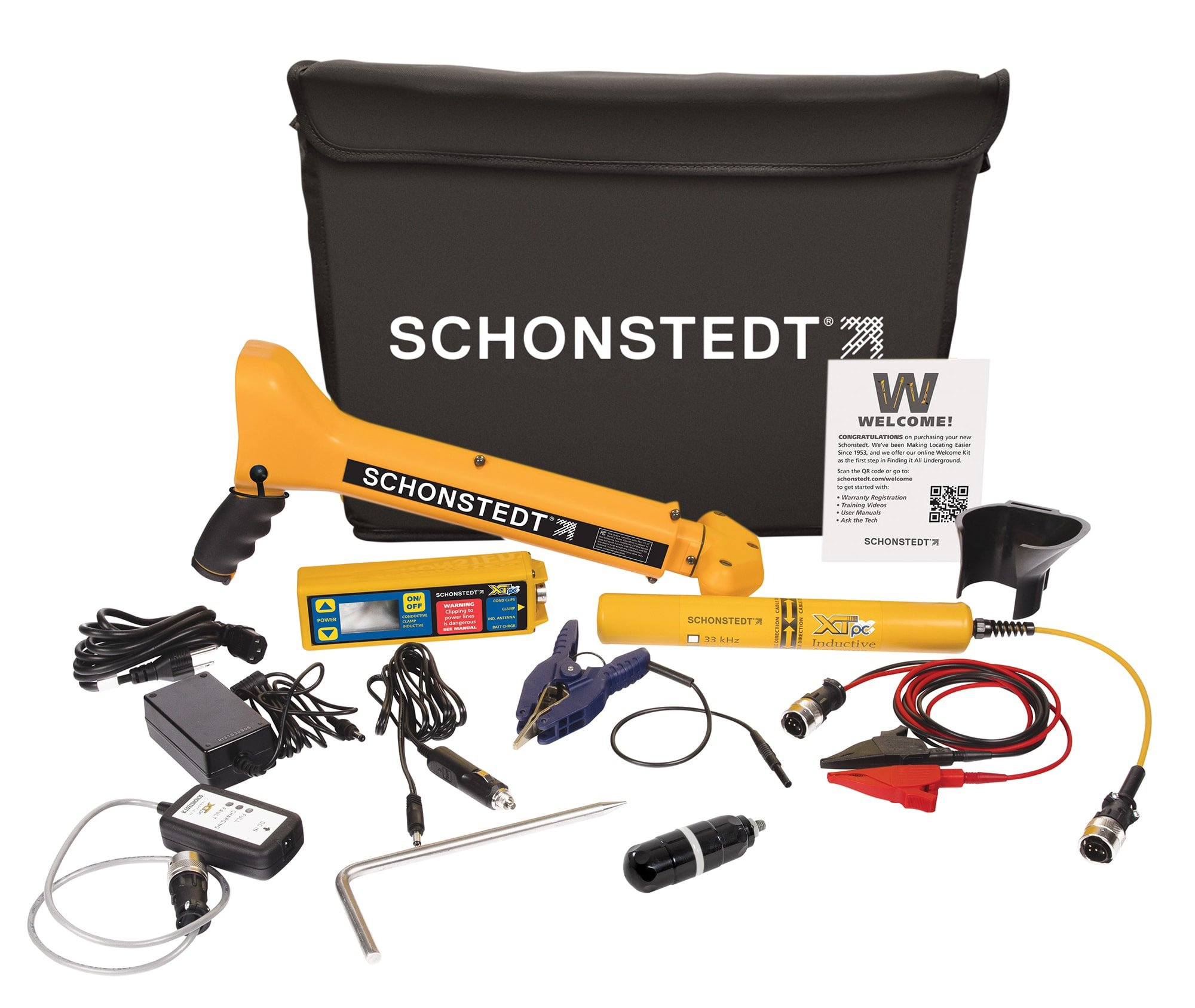 PCS-800 Pipe & Cable & Sonde Locating Kit