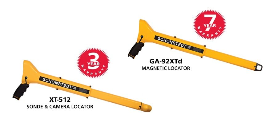 PK-500 contains the XT-512 sonde and camera locator and the GA-52XTd Magnetic Locator