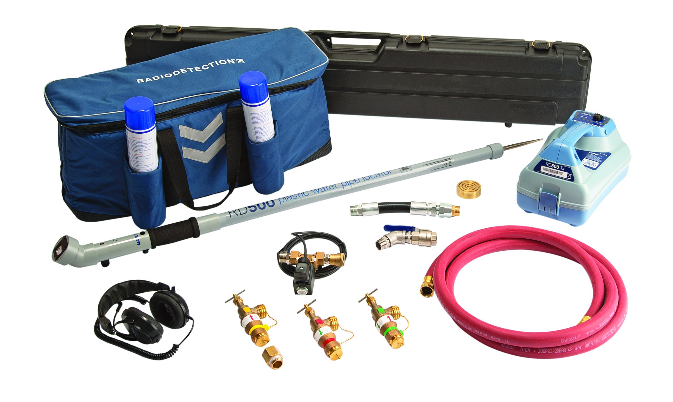 RD500-PRO Plast Pipe Locator Kit