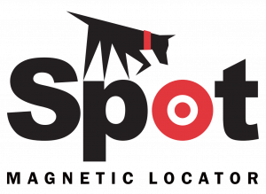 Spot Magnetic Stick Locator Logo