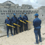 Demining teams briefed on using Schonstedt UXO Locators